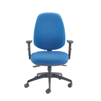 Cappela Rise High Back Posture Blue Chair KF03494