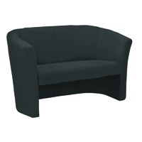 Arista Charcoal Fabric 2 Seat Tub