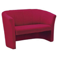 Arista Claret Fabric 2 Seat Tub