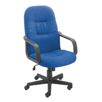 Jemini High Back Manager Blue Chair KF50180
