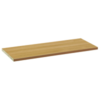 Arista Oak Wooden Shelf For Open Front Storage KF72115