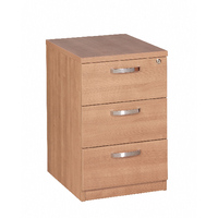 Avior 3 Drawer Mobile Pedestal Ash KF72288