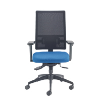 Cappela Agility High Back Mesh Posture Blue Chair KF73884