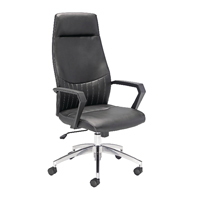 FF Avior Tantalus Leather Look Chair KF74822