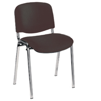 First Ultra Stacker Chair Charcoal