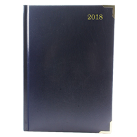 Executive Diary A5 Day/Page 2018 Blue KFEA51BU18