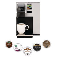 Keurig Podsx5 Cases With Free K150 Coffee Machine (Pack of 5) cases) KG810010