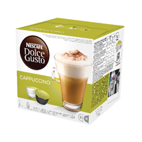Nescafe Dolce Gusto Cappucino Capsules (Pack of 48) 12019905