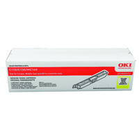 Oki C110/C130 1.5K Yellow Laser Toner Cartridge 44250717