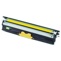 Oki C110/C130 High Capacity 2.5K Yellow Laser Toner Cartridge 44250721