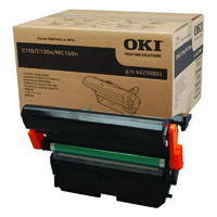 Oki C110/​C130 Black Imaging Unit 45K /​11.25K Colour 44250801