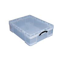 Really Useful 70 Litre Box Clear