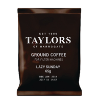 Taylors Lazy Sunday Coffee 65g Pouches (Pack of 50) 3842