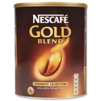 Nescafe Gold Blend Coffee 750gm x2 With FOC Tetley One Cup Tea Bag (Pack of 440)