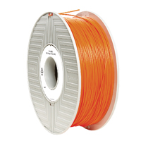 Verbatim PLA 3D Printing Filament 1.75mm 1kg Reel Orange 55272