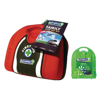 Astroplast Family First Aid Pouch with Free Micro Travel First Aid Kit WAC841008