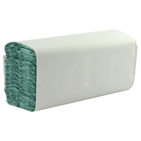 1 Ply Green C-Fold Hand Towels (Pack of 2850) WX43094