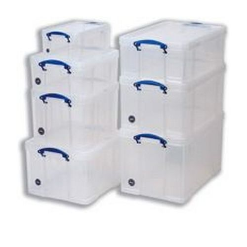 Really Useful Box 18 Litre Clear                         18C