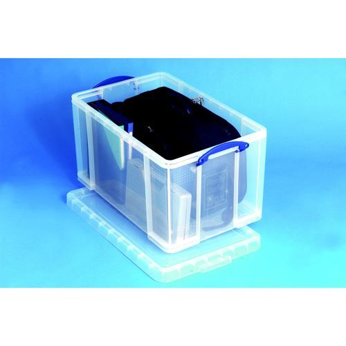 Really Useful Box 84 Litre Clear                         84C