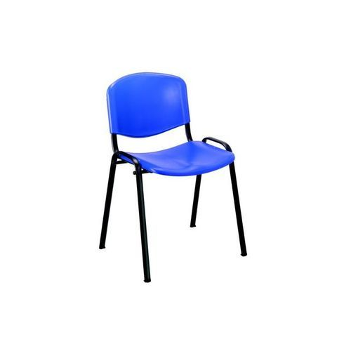 Trexus Stacking Chair Blue Poly                       746183