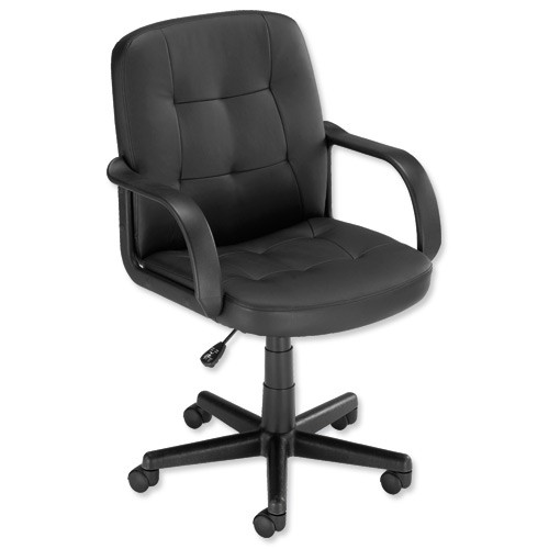 Influx Boss2 Soho Managers Armchair Black             464782