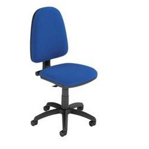 Trexus Office Operator Chair Permanent Contact Highback Blue