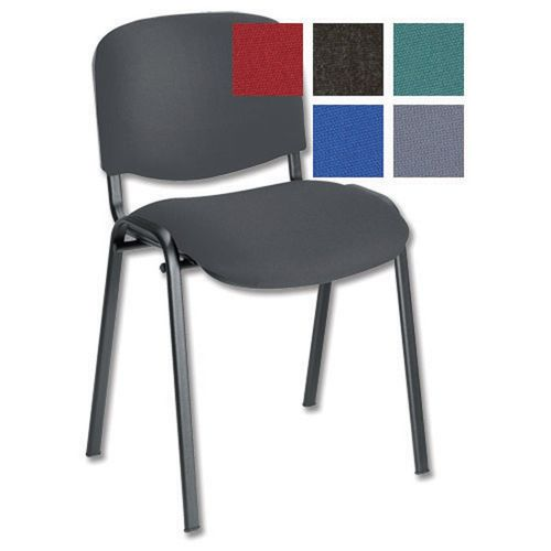 Initiative Stacking Chair Charcoal                    331866
