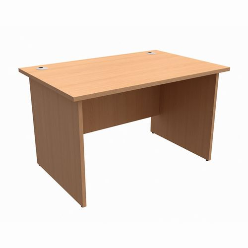 Initiative Desk Rectangular W1200xD800xH725mm Beech