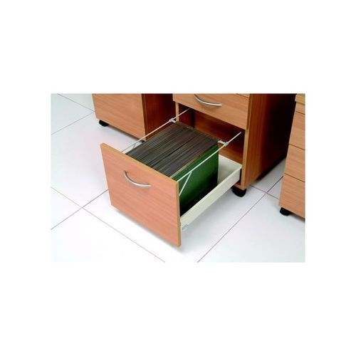 Initiative Tall Under Desk Pedestal Beech             418190
