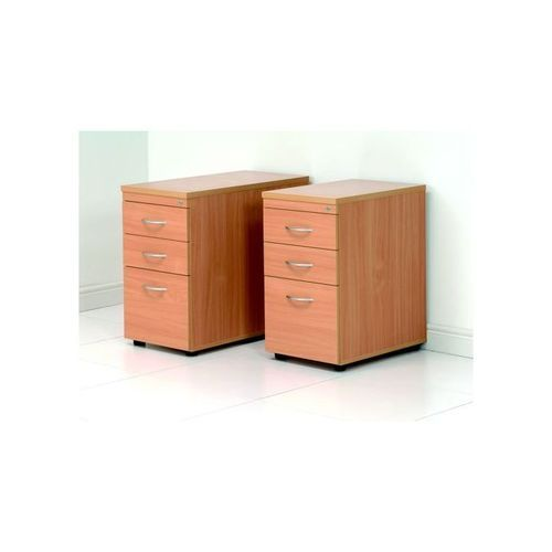 Initiative Tall Under Desk Pedestal Oak               418214