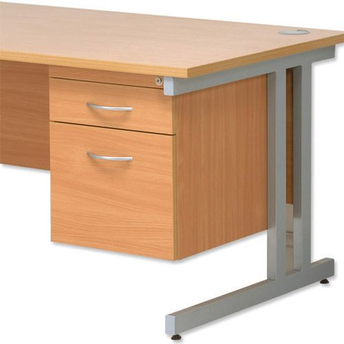 Initiative Cantilever Fixed 2D File Pedestal Beech    418100