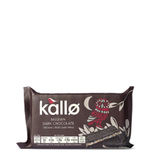 Kallo Orange Belgian Dark Chocolate Rice Cake Thins 90g