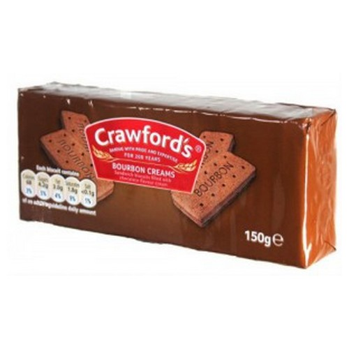 Bourbon Biscuits 2x12g Portions Box 100           Bourb Serv