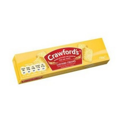 Custard Creams 2x20g Portions Box 120            Ccream Serv