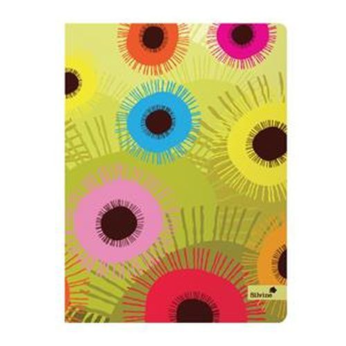 Silvine A5+ Perfect bound Notebook Spring Flowers    PERA5SG