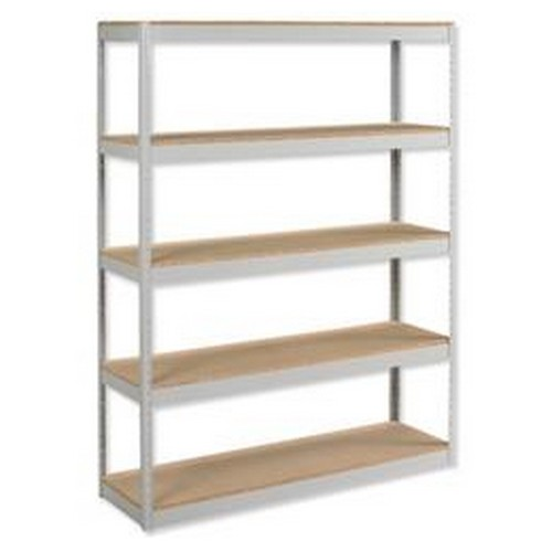 Influx Archive Shelving Unit Heavy-Duty Extra Wide 5 Shelves