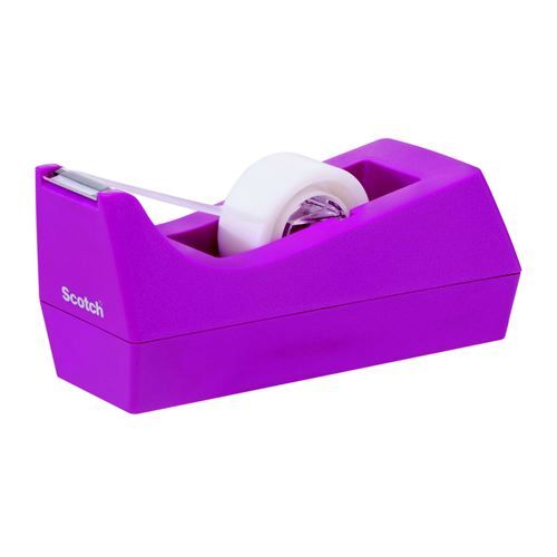 Scotch Fuschia Tape Dispenser                     C38FUSCHIA