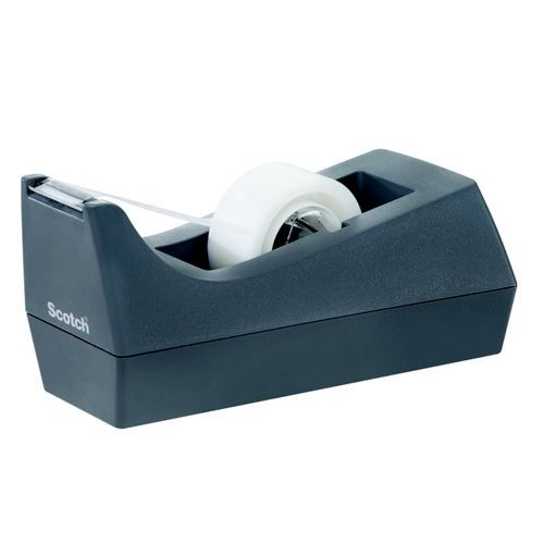 Scotch Grey Tape Dispenser                           C38GREY