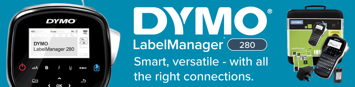 Dymo LabelManager 280 kits Banner Image