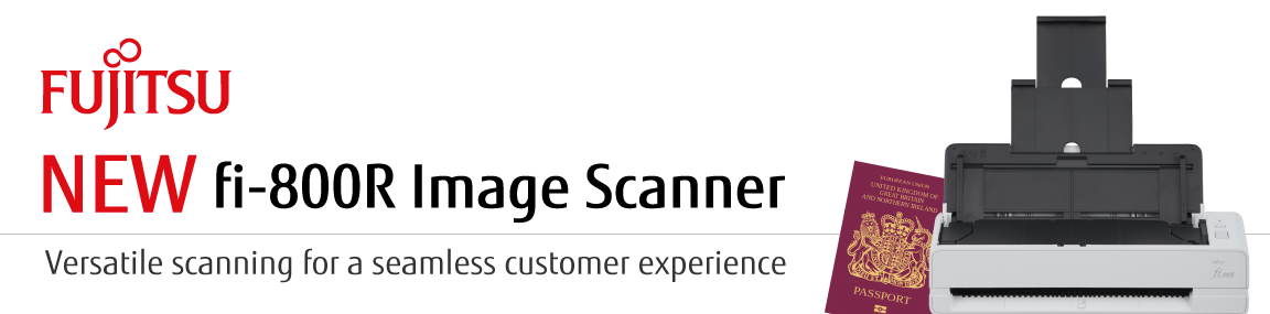 New Scanner from Fujitsu Banner Image
