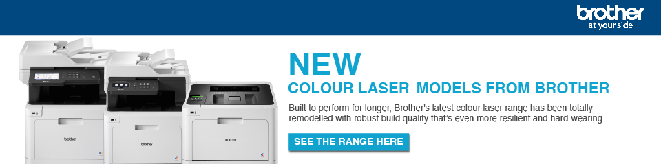 NEW colour laser models! Banner Image