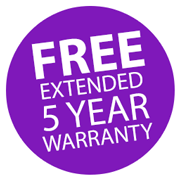 Extended 5 Year Warranty! Icon