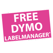 Buy 5 D1 Tapes and receive a FREE DYMO labeller Icon