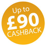 Up to £90 Cashback with Fellowes! Icon
