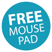 FREE Kensington Mouse Pad worth over £20! Icon