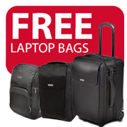 FREE Kensington laptop bags with Rexel Icon