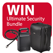 Win the weekly 'Ultimate Security Bundle' worth £350! Icon