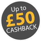£50 Cashback on Fellowes Sit-Stand Solutions Icon