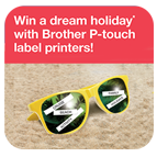 Win a dream holiday with Brother P-touch Icon