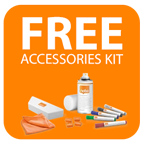 FREE accessories kit with selected Nobo whiteboards Icon